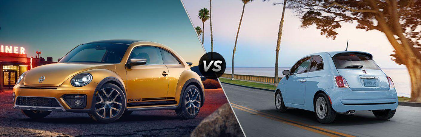 2017 vw beetle vs 2017 fiat 500