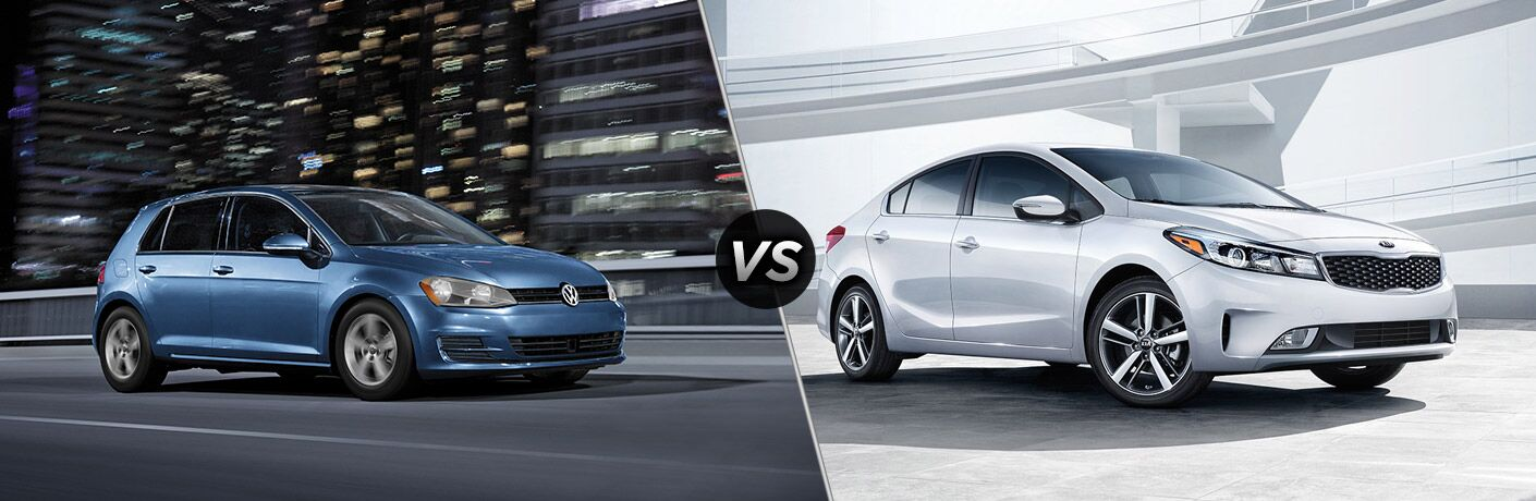 2017 Volkswagen Golf vs 2017 Kia Forte