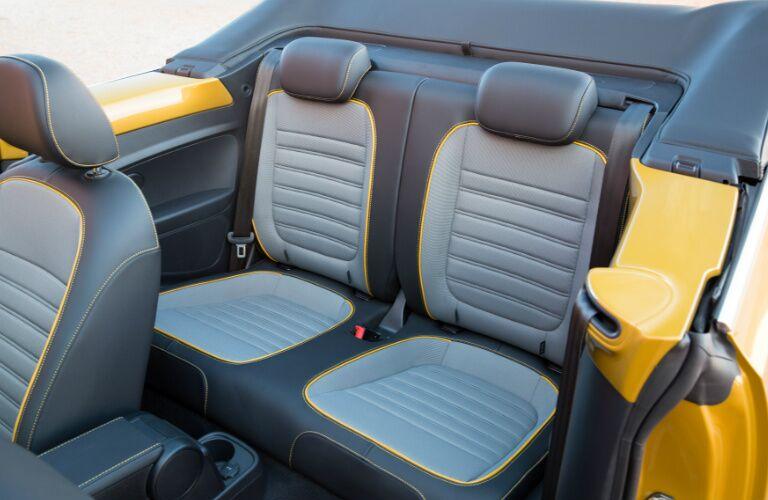 2017 Volkswagen Beetle Convertible Orange County CA Interior