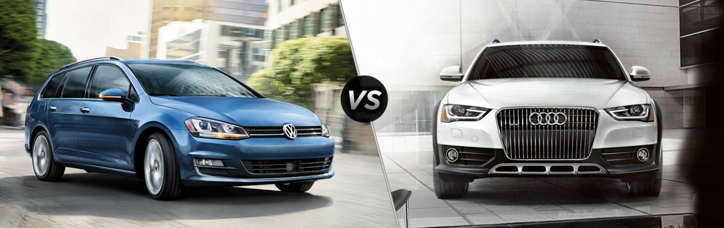 2017 Volkswagen Golf SportWagen vs 2017 Audi A4 allroad