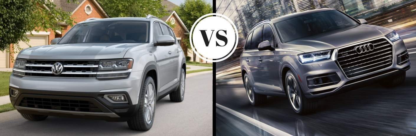2018 vw atlas vs 2018 audi q7