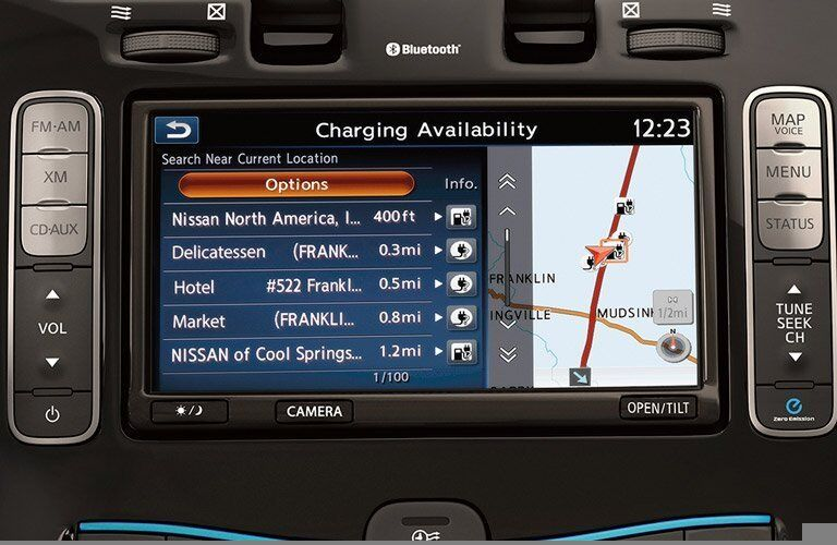 Where can you charge the Nissan Leaf in Sacramento?
