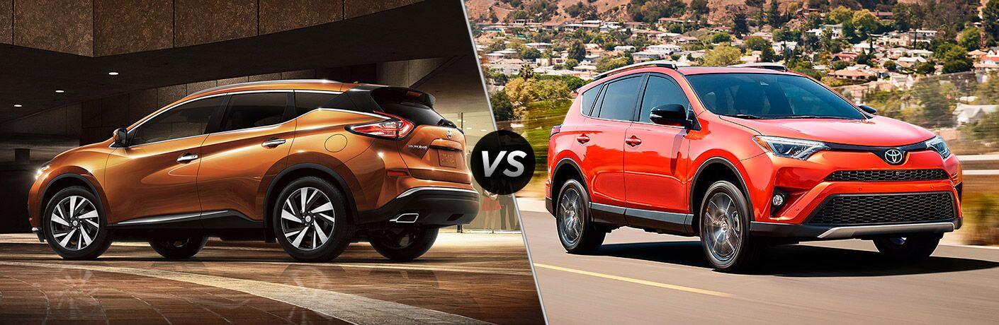 2017 Nissan Murano vs 2017 Toyota RAV4