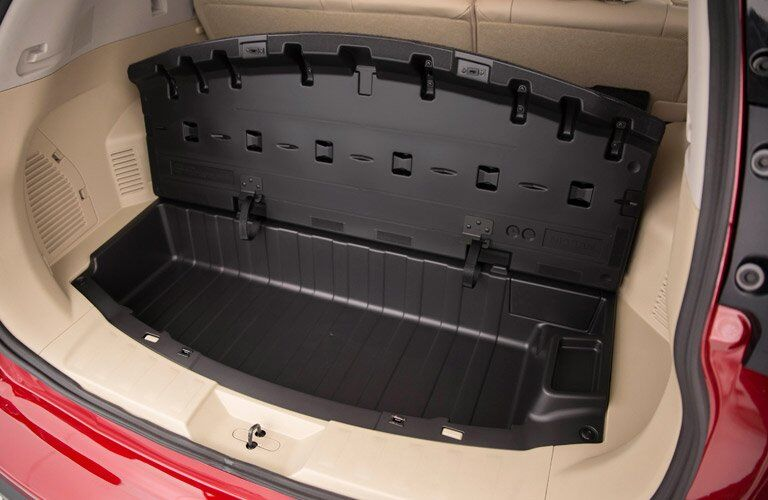 2017 Rogue Divide-N-Hide Cargo Management system