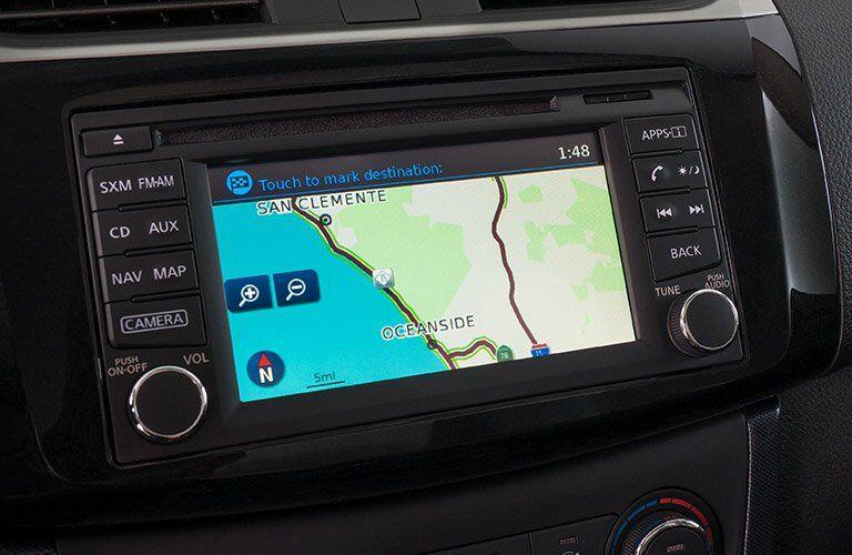 2017 Nissan Sentra navigation
