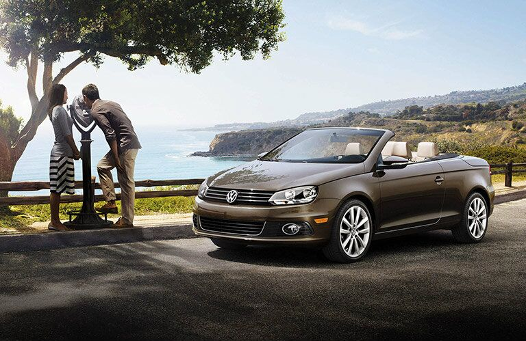 2016 VW Eos in Bronze Color Option