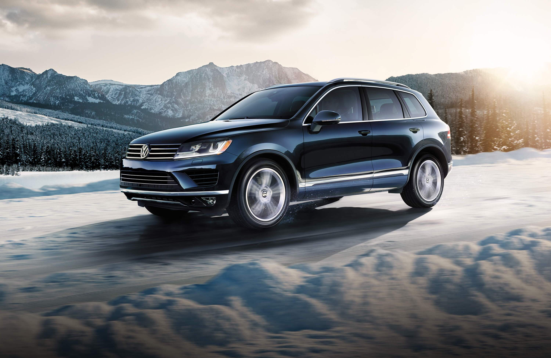 2015 VW touareg safety features