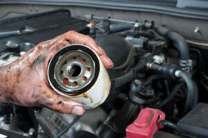 replace oil filter