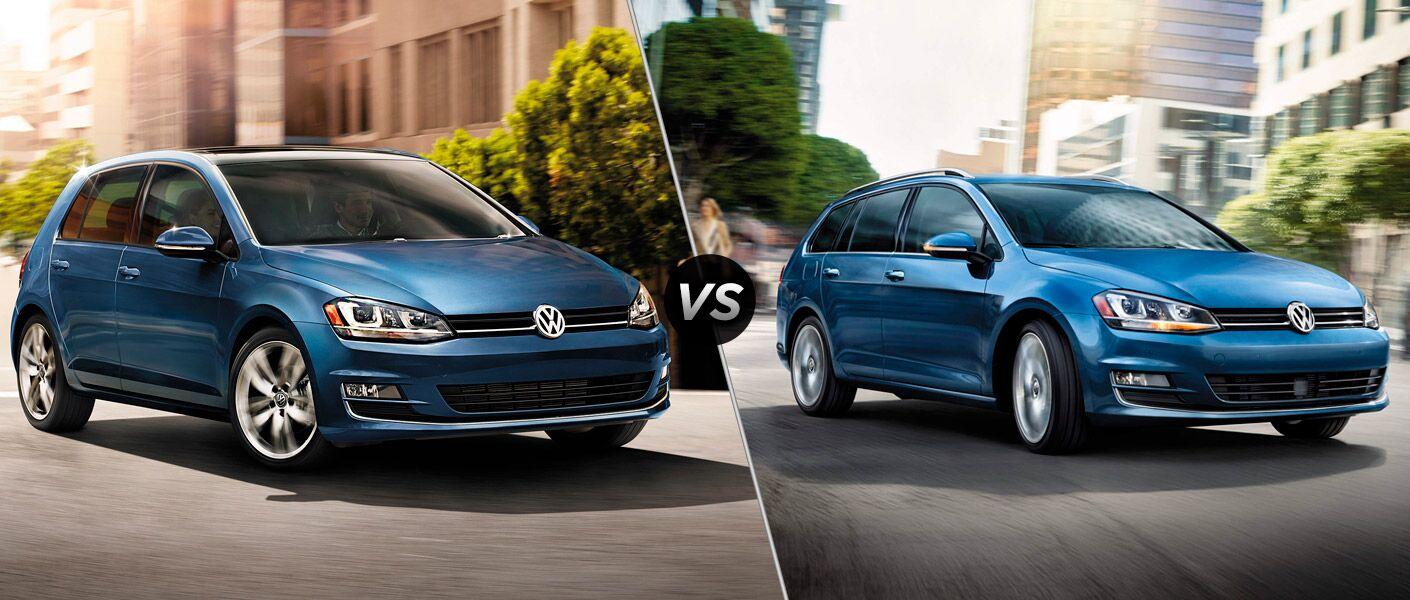 2015 Volkswagen Golf vs 2015 Volkswagen Golf SportWagen Seattle WA