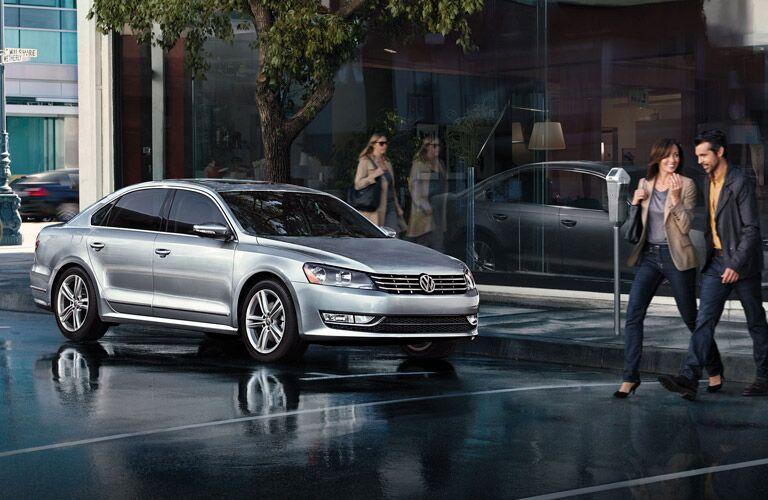 2015 Volkswagen Passat exterior front side