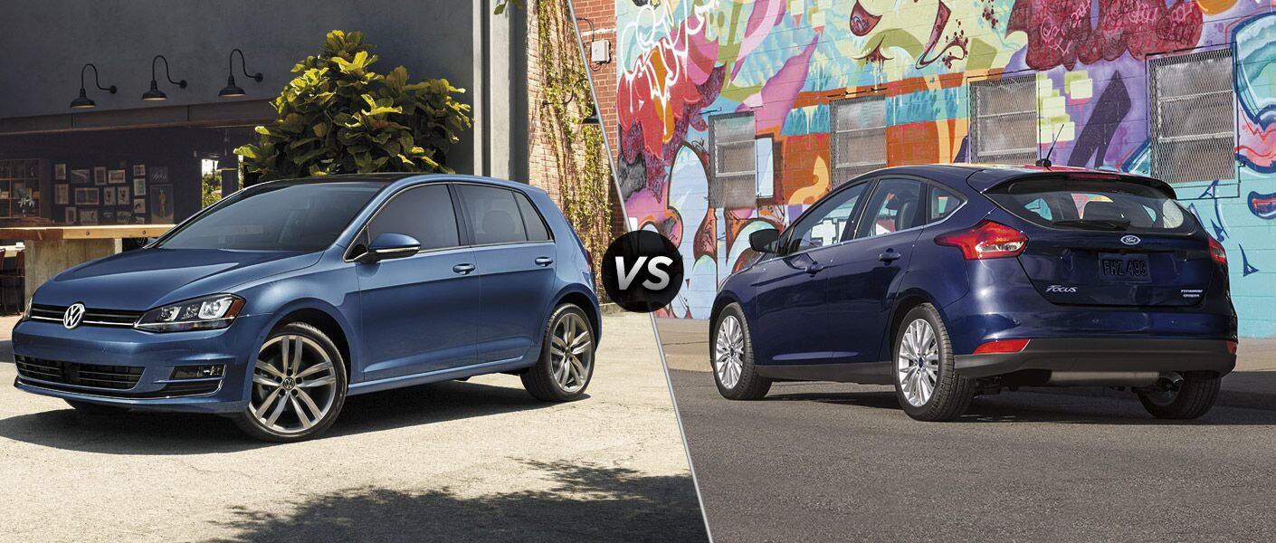 2016 Volkswagen Golf vs 2016 Ford Focus