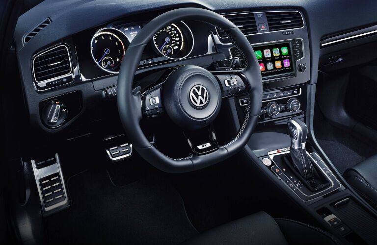 2016 Volkswagen Golf R Seattle WA Dashboard