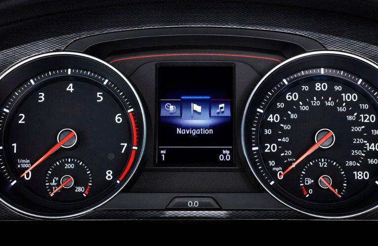 2017 Volkswagen Golf GTI gauge cluster