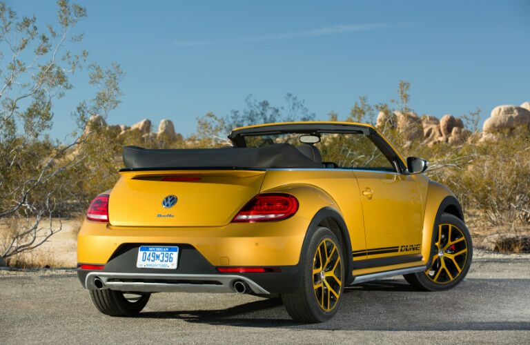 2017 Volkswagen Beetle Convertible Seattle WA Yellow Exterior