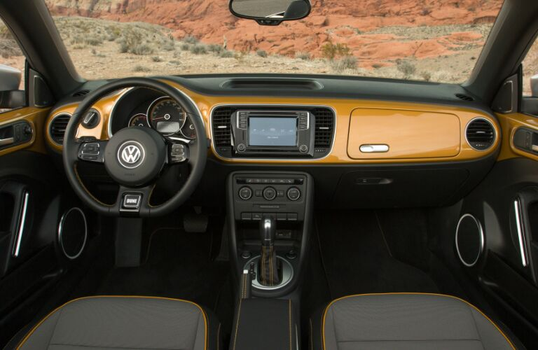 2017 Volkswagen Beetle Convertible Seattle WA Interior