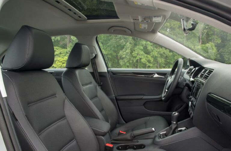 2017 VW Jetta seating