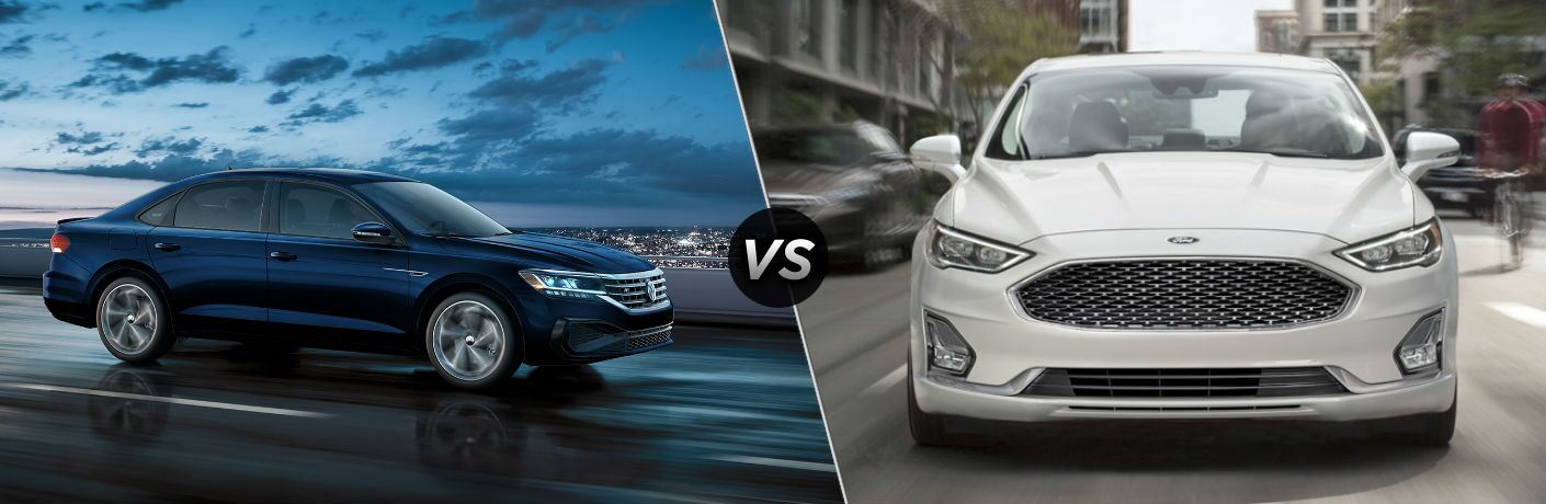 2020 Volkswagen Passat vs 2020 Ford Fusion