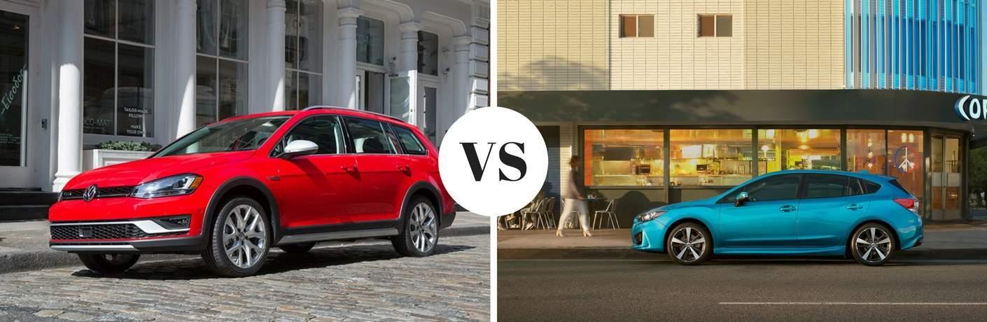 2017 Volkswagen Alltrack vs 2017 Subaru Imprezza