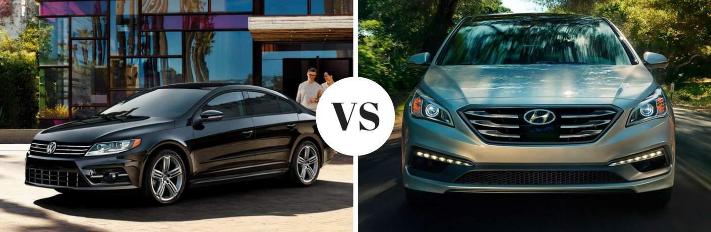 2017 Volkswagen CC vs 2017 Hyundai Sonata