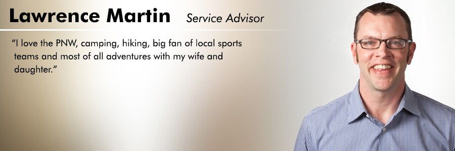 Lawrence Martin, Service Advisor at Carter Volkswagen in Seattle, WA