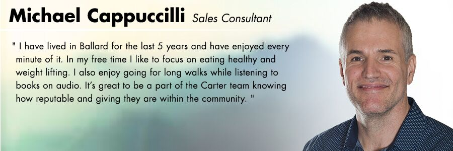 Michael Cappuccilli - Sales Consultant at Carter Volkswagen in Seattle, WA