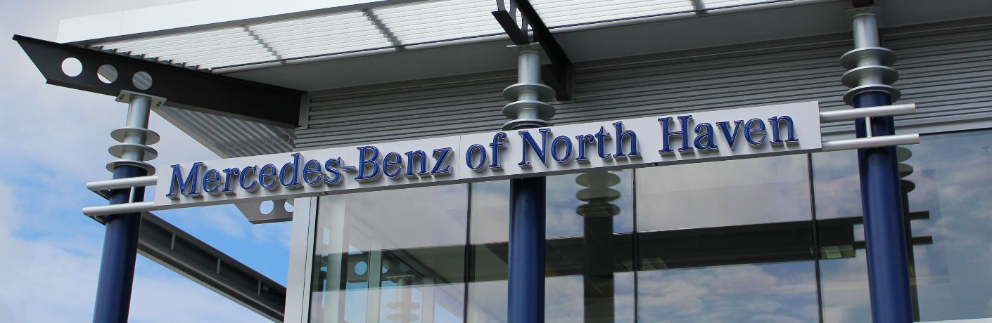 Mercedes-Benz of North Haven Dealership Sign