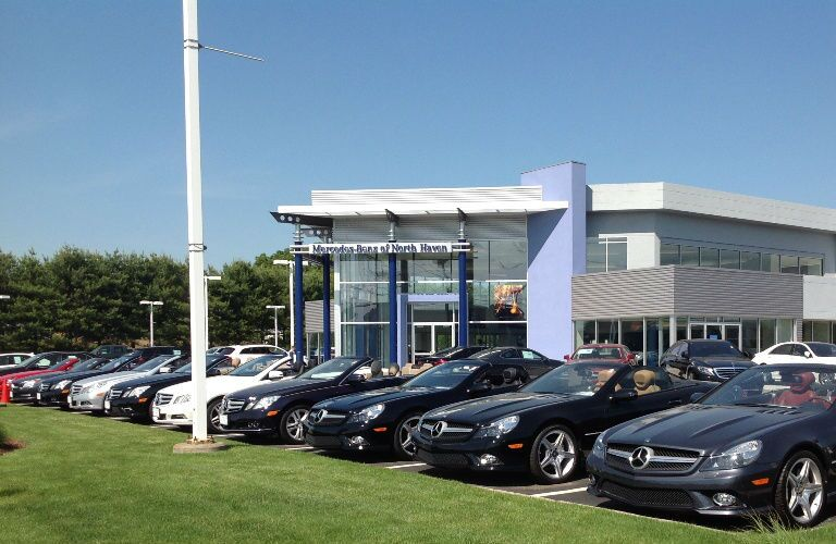 Inventory of Mercedes-Benz models on Mercedes-Benz of North Haven Lot