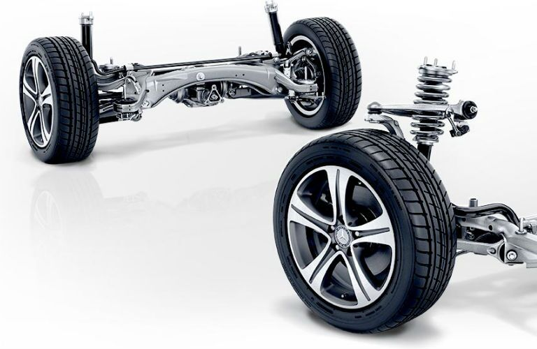 Mercedes-Benz E-Class Suspension and Wheels