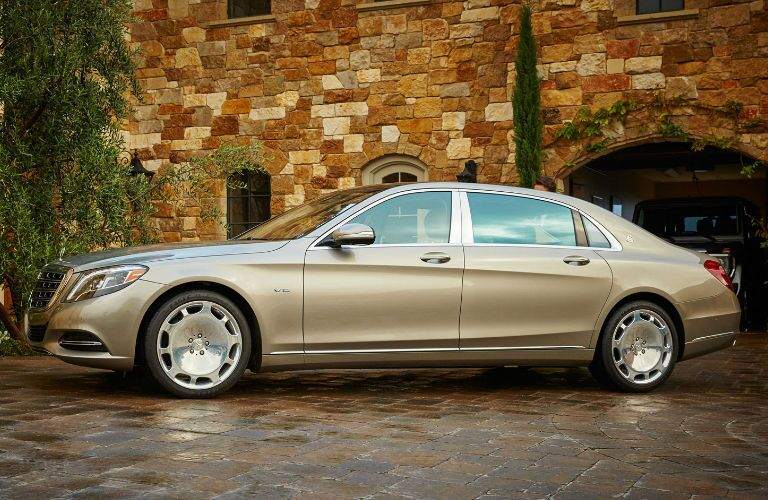 Gold 2016 Mercedes-Benz S600 Maybach