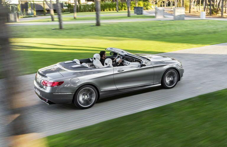 Gray 2017 Mercedes-Benz S-Class Cabriolet Rear Exterior