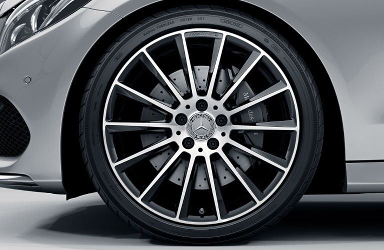 Mercedes-Benz C-Class Tires and Wheels
