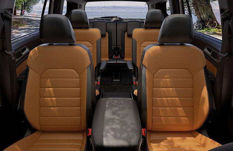 full interior of a 2019 VW Atlas
