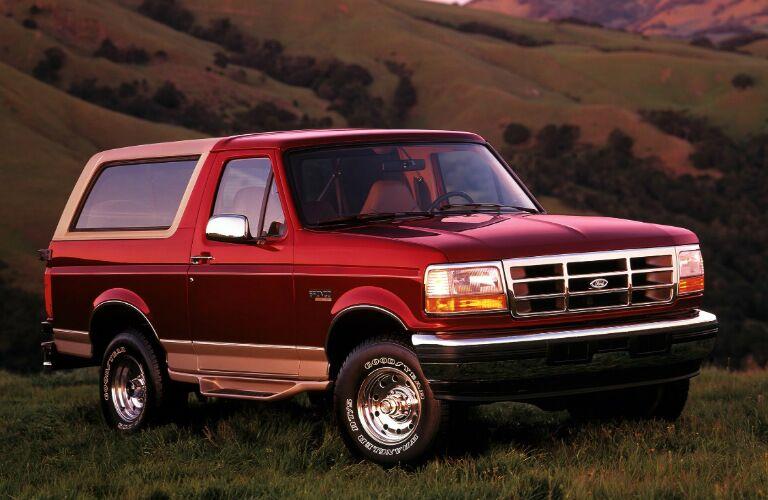 1996 Ford Bronco Eddie Bauer edition