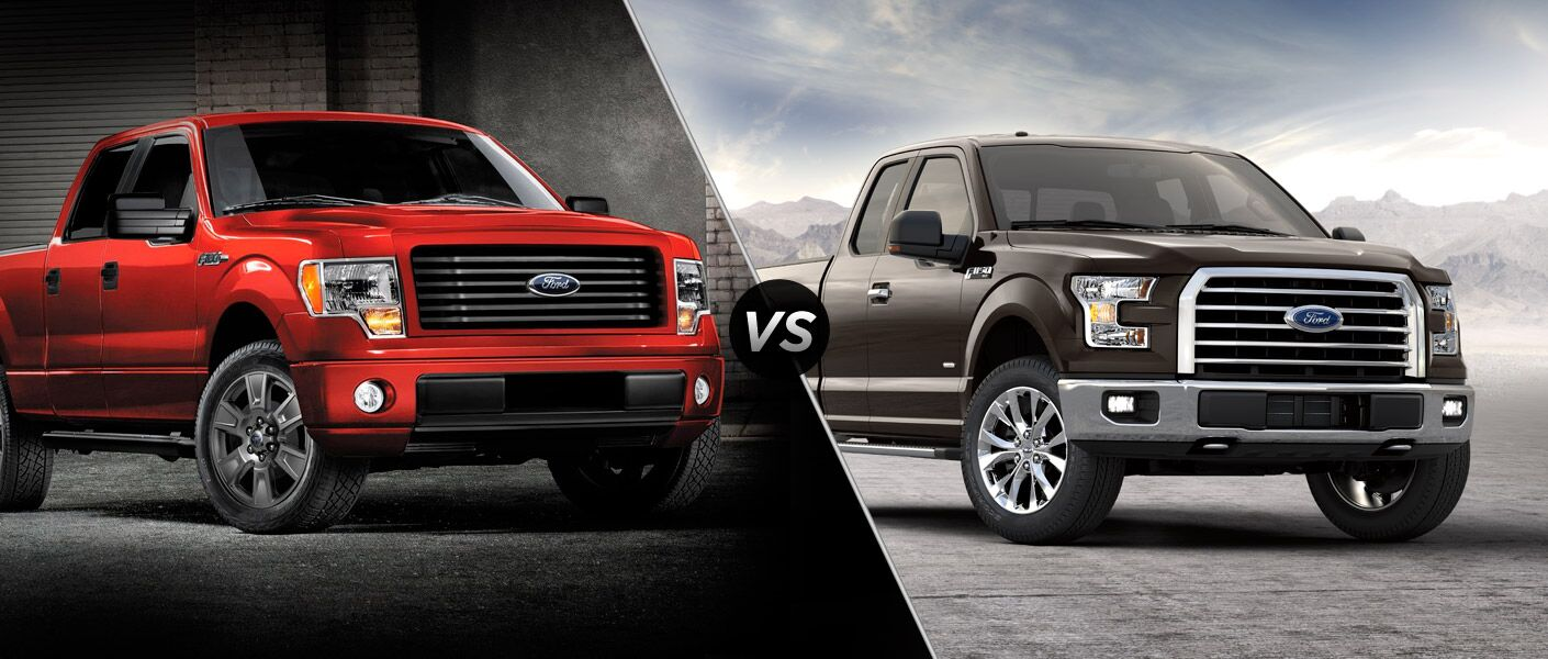 2014 Ford F 150 Vs 2015 Ford F 150