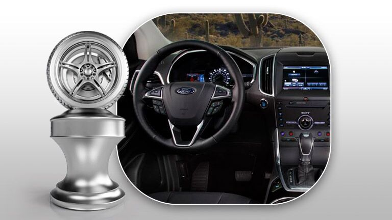 There are a number of fun features when you look at the 2015 Ford Edge vs 2015 Chevy Traverse.