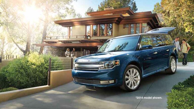 The 2015 Ford Flex is available for an affordable price at Brandon Ford!
