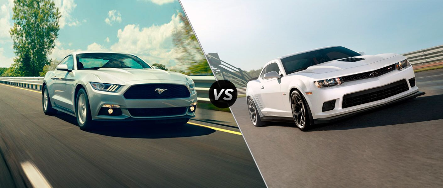 2015 Ford Mustang GT vs 2015 Chevy Camaro SS