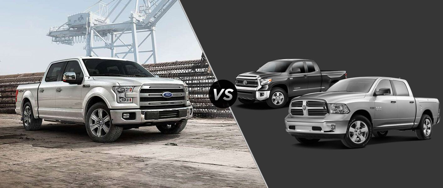 2015 Ford F-150 vs 2015 Ram vs 2015 Tundra