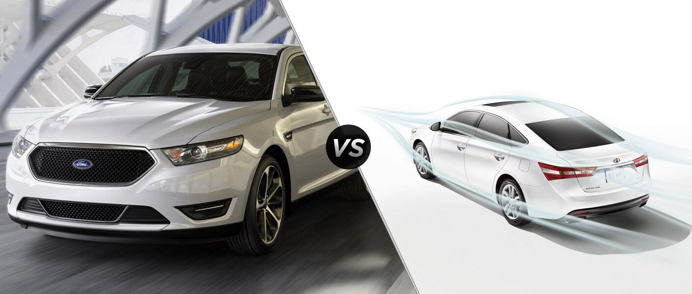 2015 Ford Taurus vs 2015 Toyota Avalon