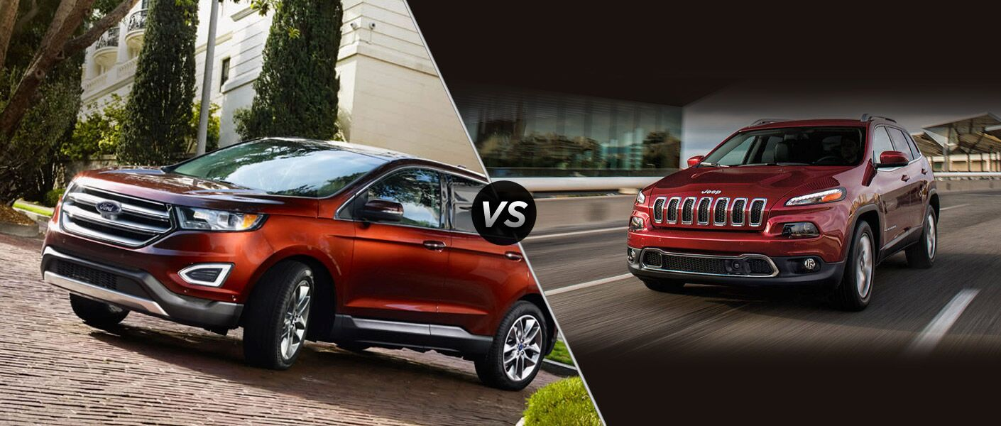 2015 Ford Edge versus 2015 Jeep Cherokee