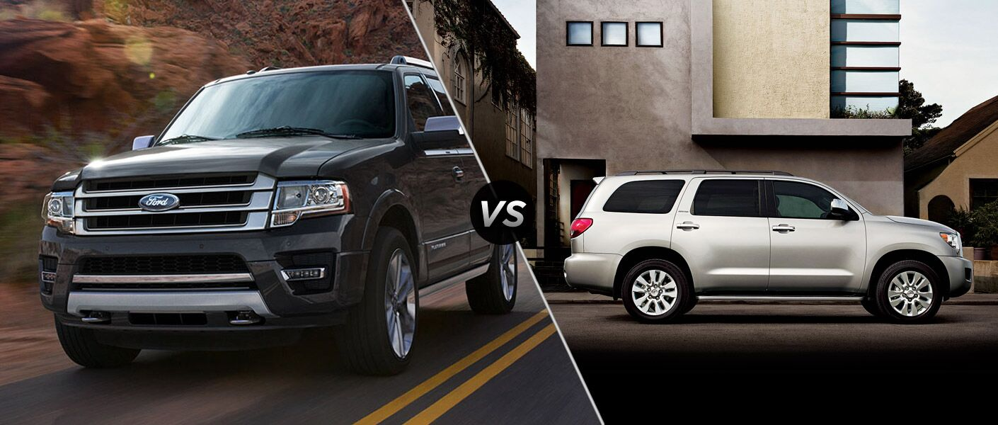 2015 Ford Expedition vs 2015 Toyota Seqouia