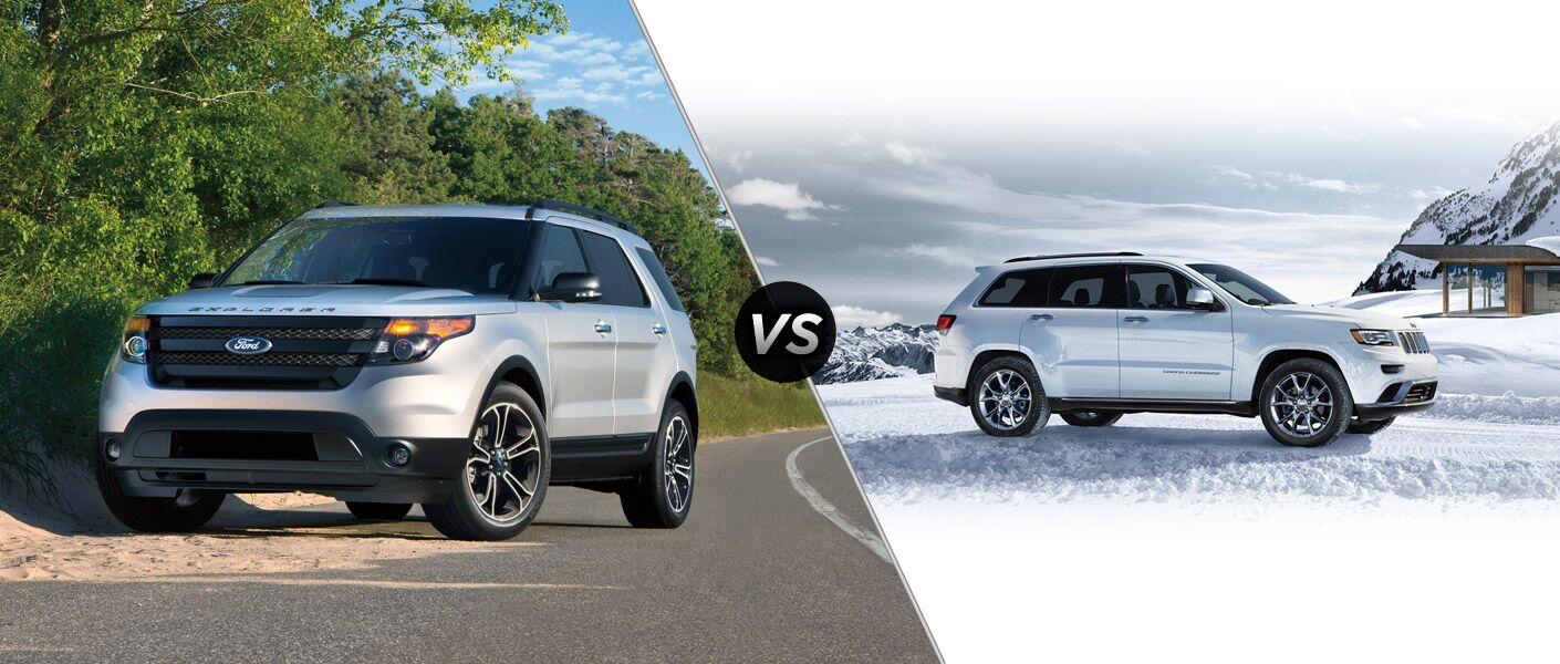 2015 ford explorer vs 2015 jeep grand cherokee. Black Bedroom Furniture Sets. Home Design Ideas