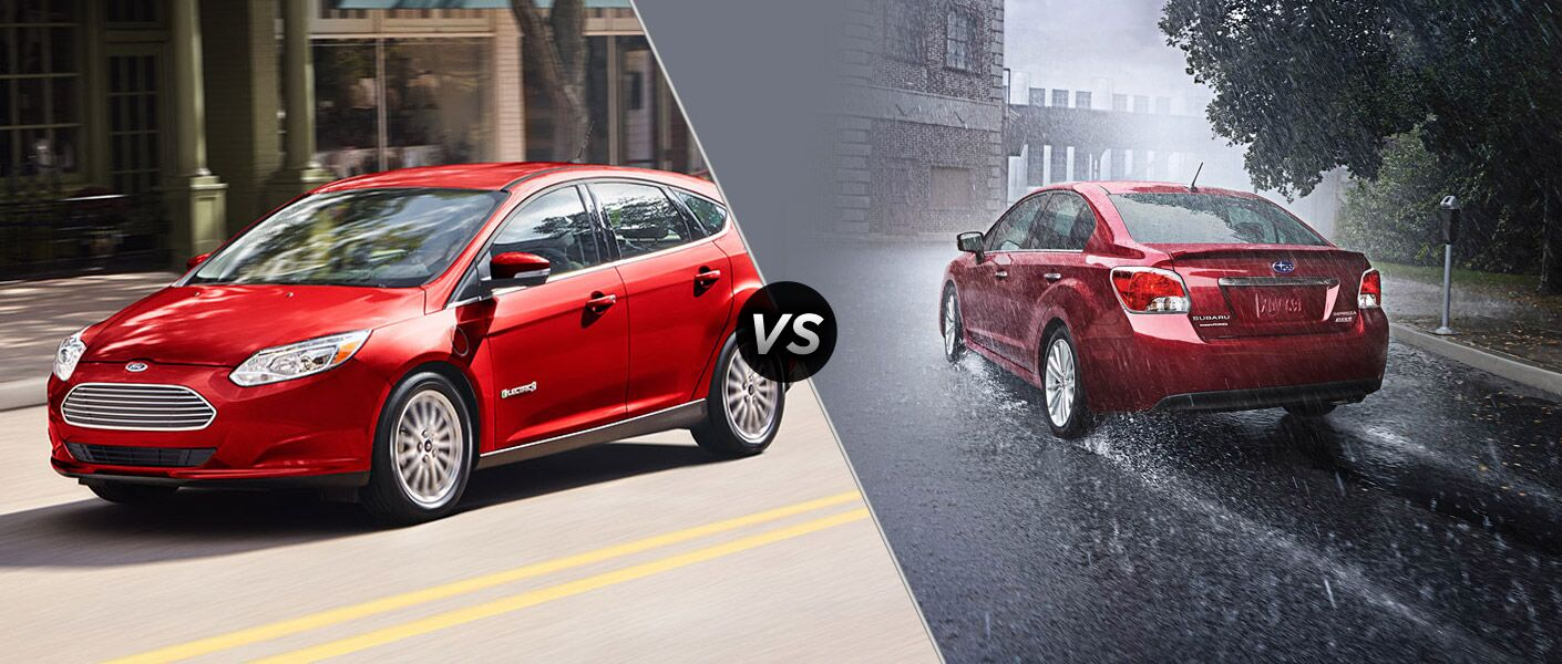2015 Ford Focus vs 2015 Subaru Impreza