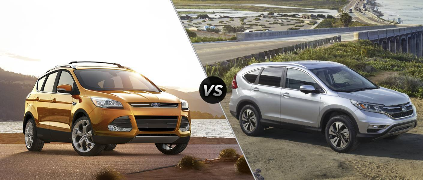 2016 ford escape vs 2016 honda cr v