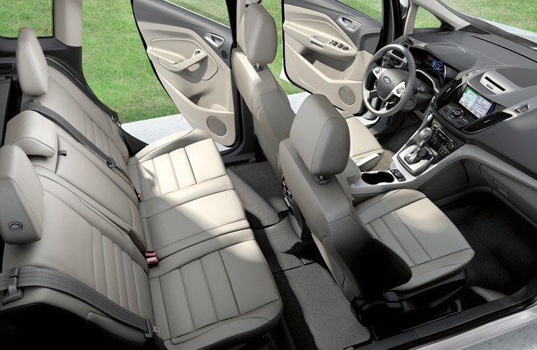 2017 Ford C-MAX Hybrid full interior passenger space