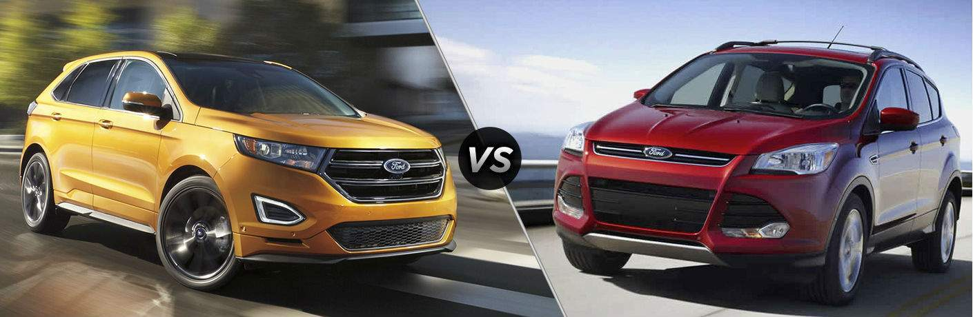 Ford Edge Vs Escape >> 2017 Ford Edge Vs 2017 Ford Escape