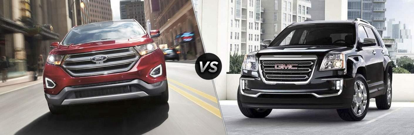 2017 Ford Edge vs 2017 GMC Terrain