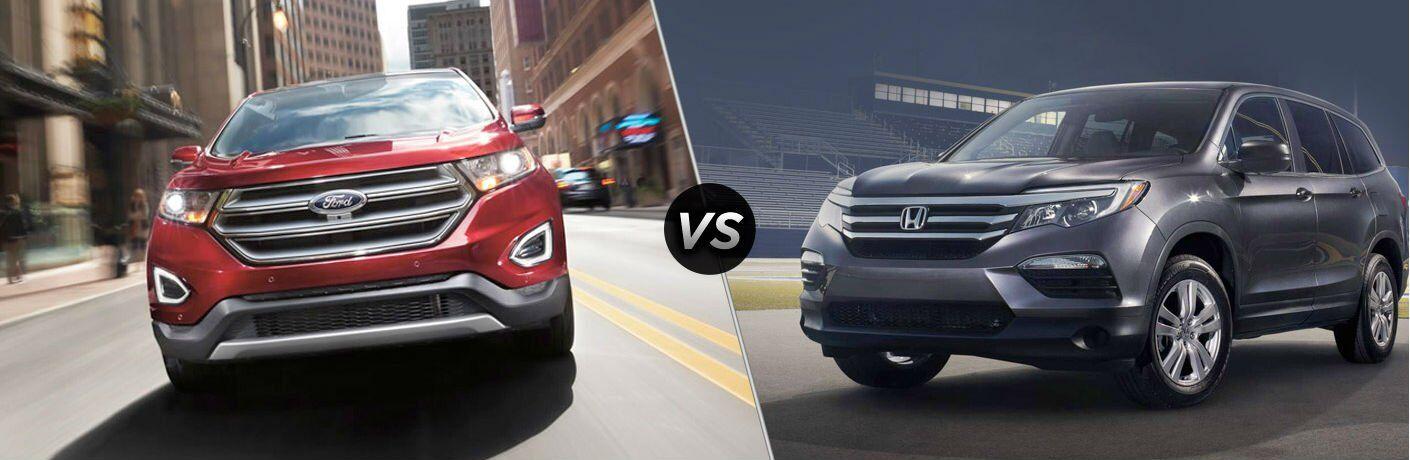 2017 Ford Edge vs 2017 Honda Pilot