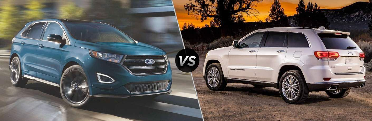 2017 Ford Edge vs 2017 Jeep Grand Cherokee