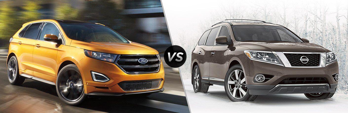 2017 Ford Edge vs 2017 Nissan Pathfinder
